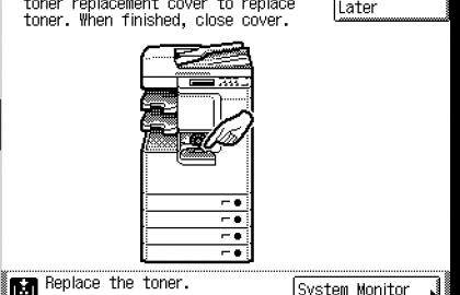 Cách thay mực  máy photocopy Canon IR2525