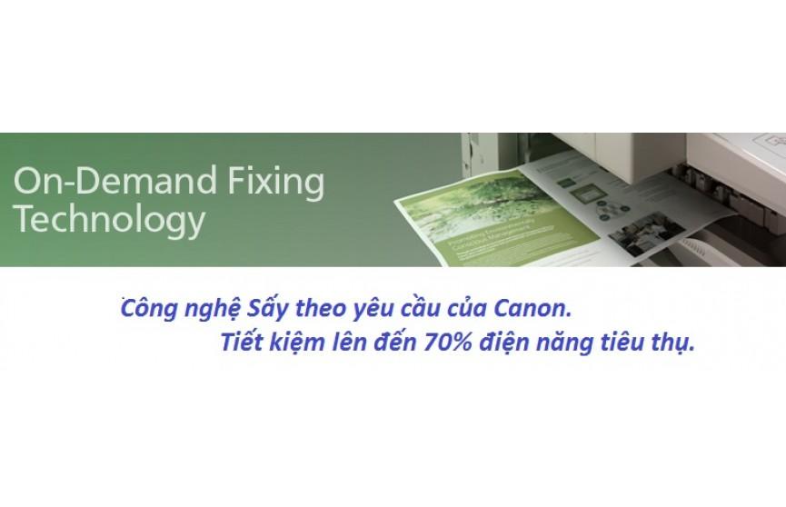 Công nghệ sấy của máy photocopy Canon